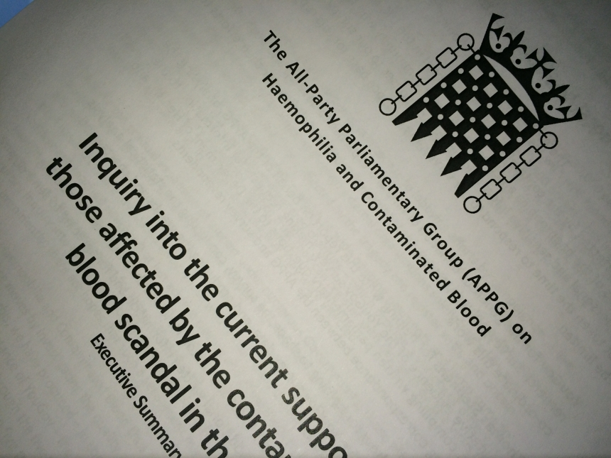 The APPG Report on the current  financial support arrangements