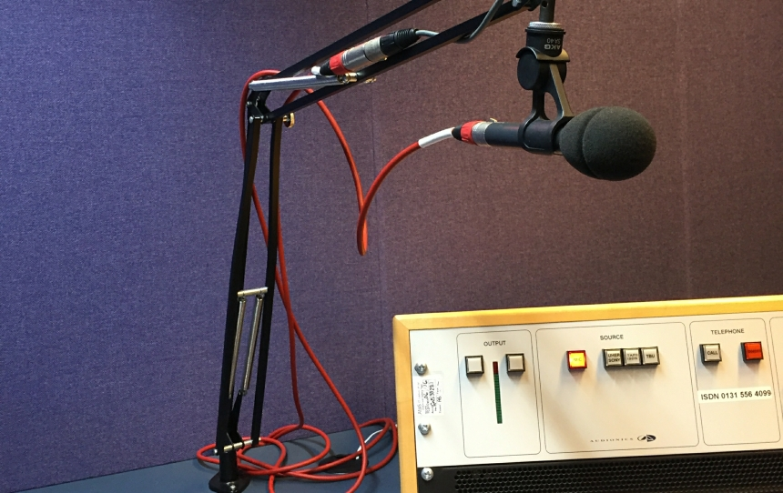 BBC Radio Scotland's Edinburgh Studio