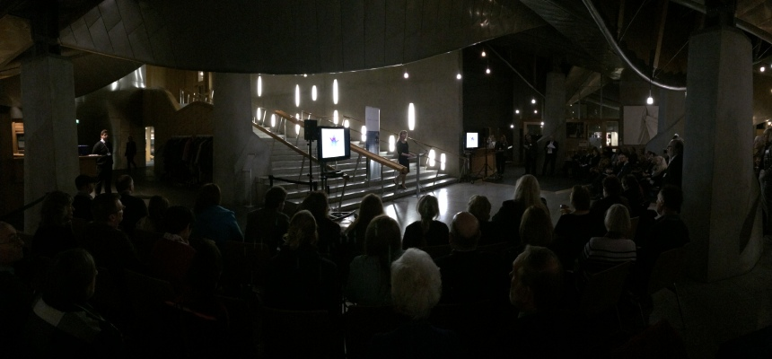 The Garden Lobby of the Scottish Parliament was packed for the 2015 Rare Diseases Day Scottish Parliament Reception.