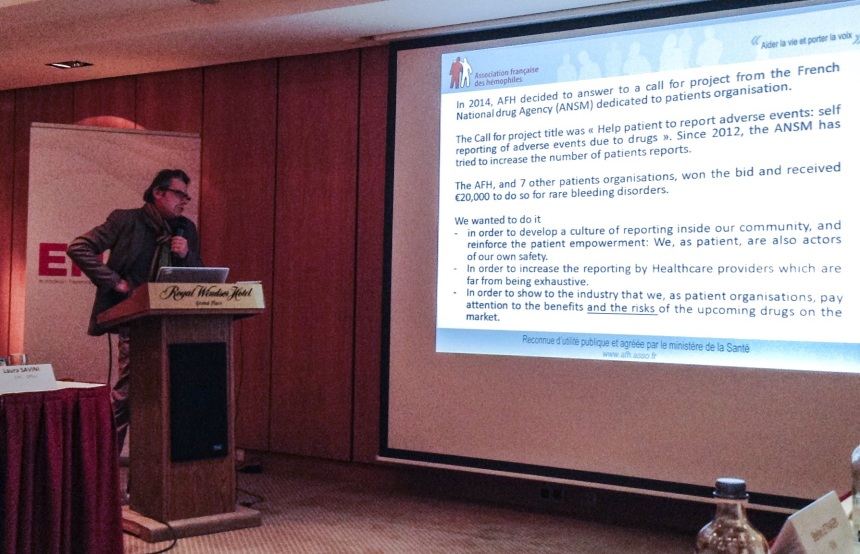 Thomas Sannie explains how patient reporting has been improved in France.