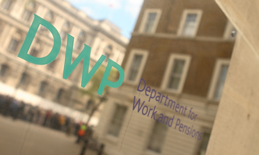 DWP Department for Work and Pensions government